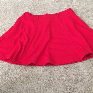Clearance! Forever 21 red skater skirt